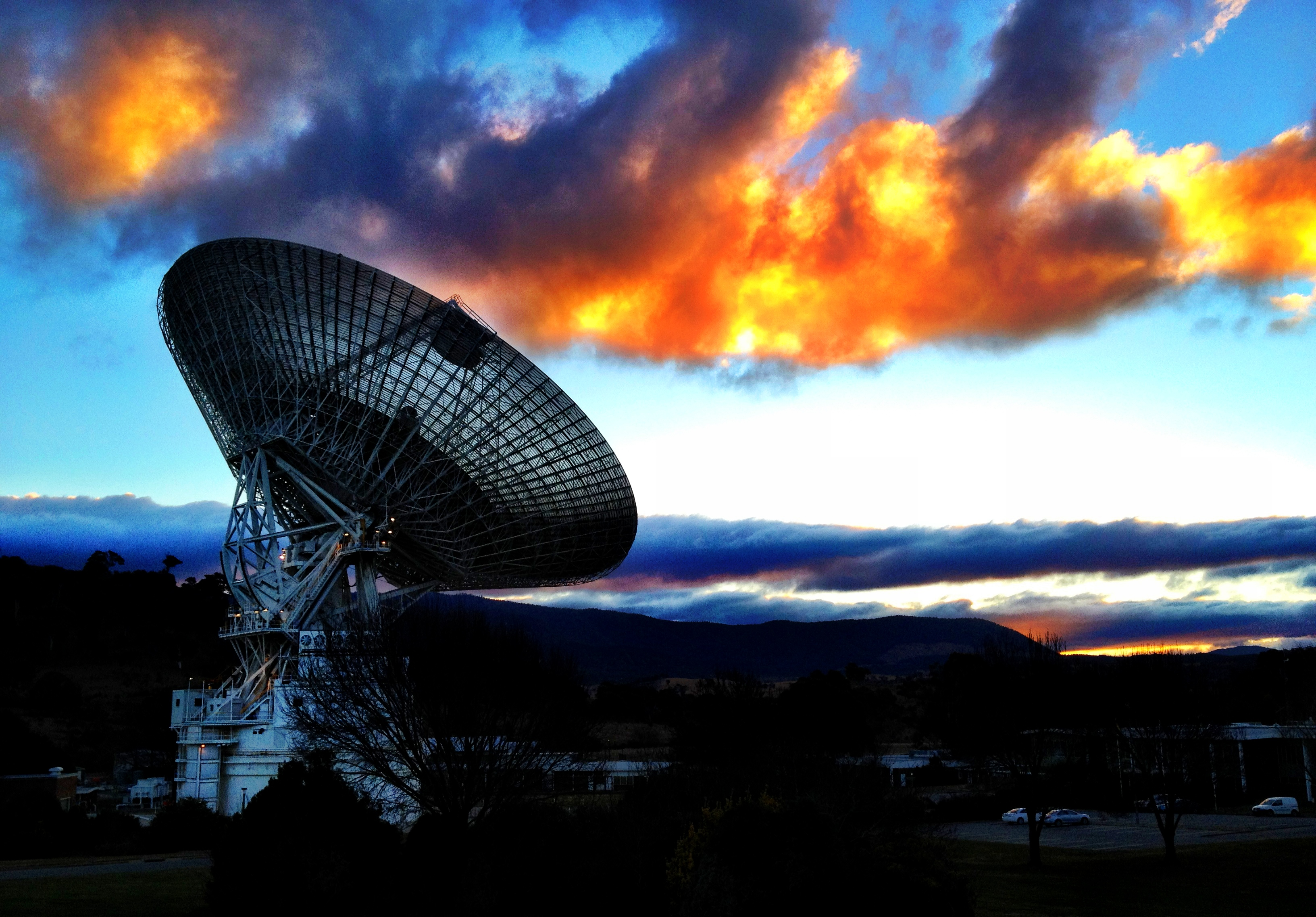 How is space communication 73